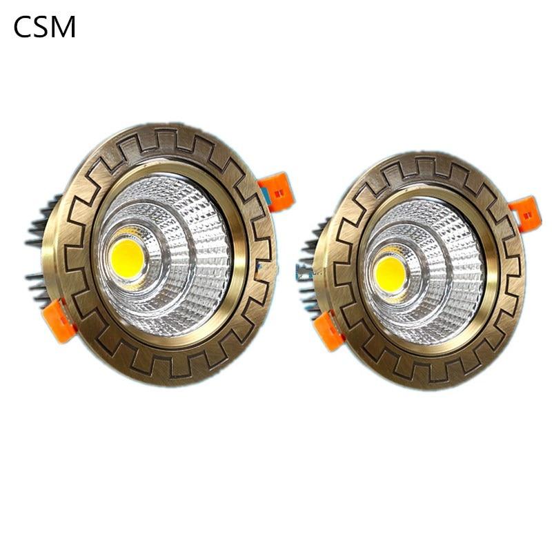 Aliexpress.com : Buy Bronze LED Downlight ... on Non Lighting Sconces id=64875