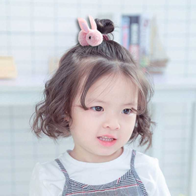 2019 Cute Animals Rabbit  Style Hair Bands Felt Three-Dimensional Plush Rabbit Ears Headband For Children Girls Hair Accessories