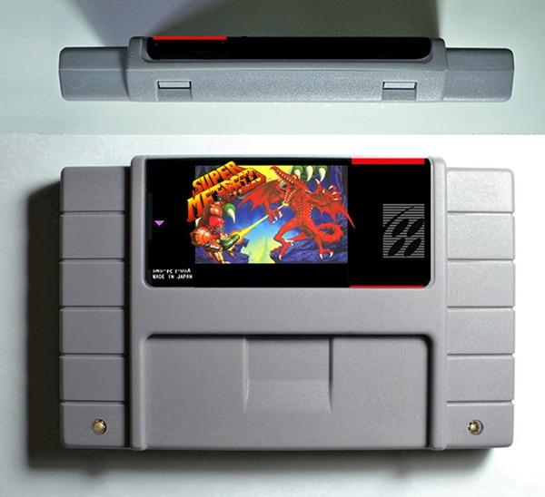 Super Metroided- Adventure Game Cartridge USA Version English Language Save File