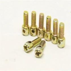 20 sztuk M3 ocynkowana realizacji śruby uszczelki miernik śruby śruby pokrywy perforowane śruby 6mm-20mm długość