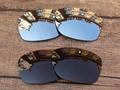Серебристый хром и Медь Коричневый 2 Пар Поляризованных Сменные Линзы Для Юпитера Squared Солнцезащитные Очки Рама 100% UVA и UVB Защиты