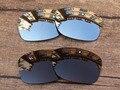 Chrome Silver & Cobre Marrom 2 Pares Polarized Lentes de Reposição Para Jupiter Squared Óculos De Sol Quadro 100% UVA & Uvb
