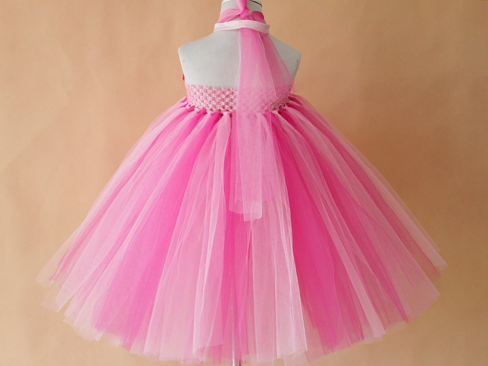 New Bright Color Flower Girls Tutu Dress Retail Handmade DIY Tulle Dresses For Baby Kids Free Shipping In From Mother On Aliexpress
