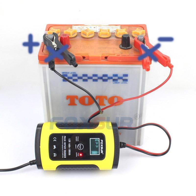 【台灣現貨】免運 快速出貨 機車汽車摩托車電瓶充電器 12V5A/6A 全智慧通用修復型鉛酸蓄電池充電機 充電+修護功能
