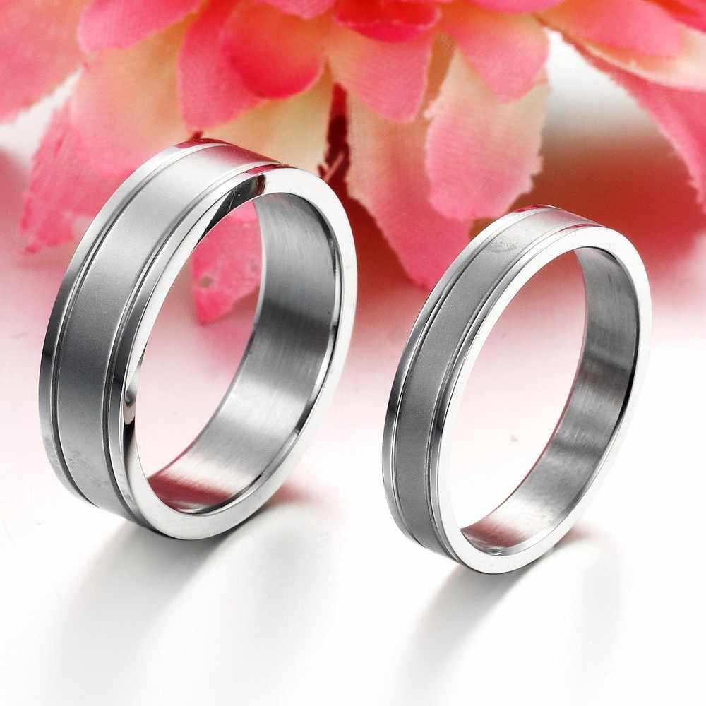 2019 nowych moda biżuteria męskie i damskie pierścienie ze stali nierdzewnej moda biżuteria Trendy ślubne pierścionki hurtownie