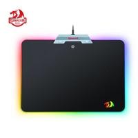 Redragon P011 ORION Мышь Pad черный RGB Chroma цветное светодиодное освещение Нескользящие USB Gaming Мышь площадкой для компьютера ноутбука Тетрадь