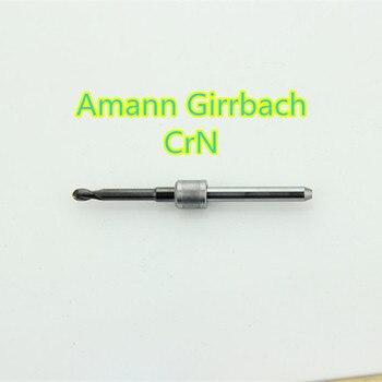 5 PCS/lot Dental Zirconia Amann Girrbach Carbide Milling Burs Machine 0.6/1.0/2.5mm Length 47mm CrN Material For Wax PMMA Block