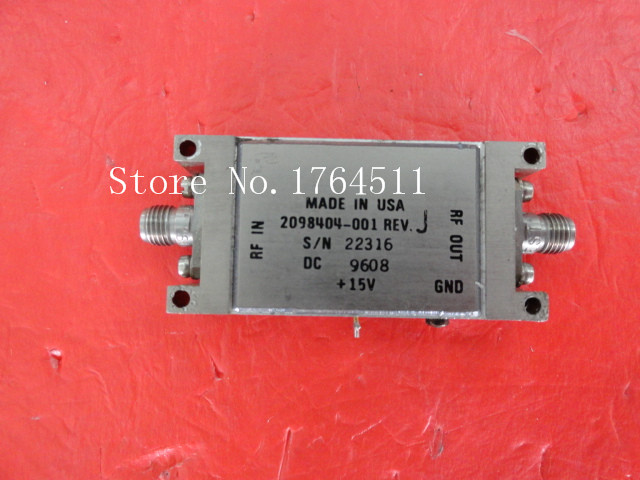 [BELLA] Supply 15V SMA Amplifier 2098404-001