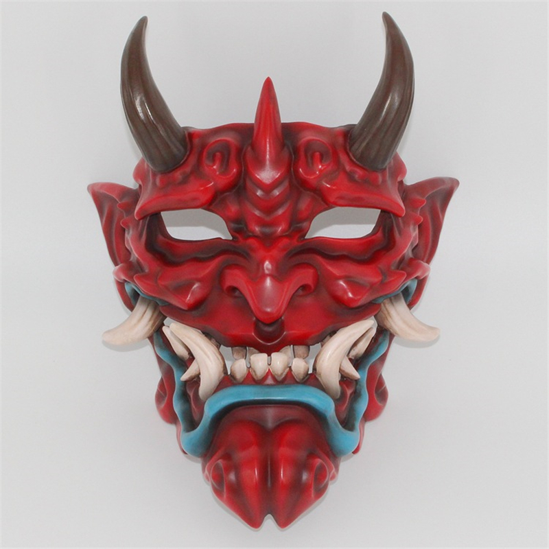 1Pcs High grade resin Halloween Grimace style Mask High grade resin mask Bar decoration mask Crafts