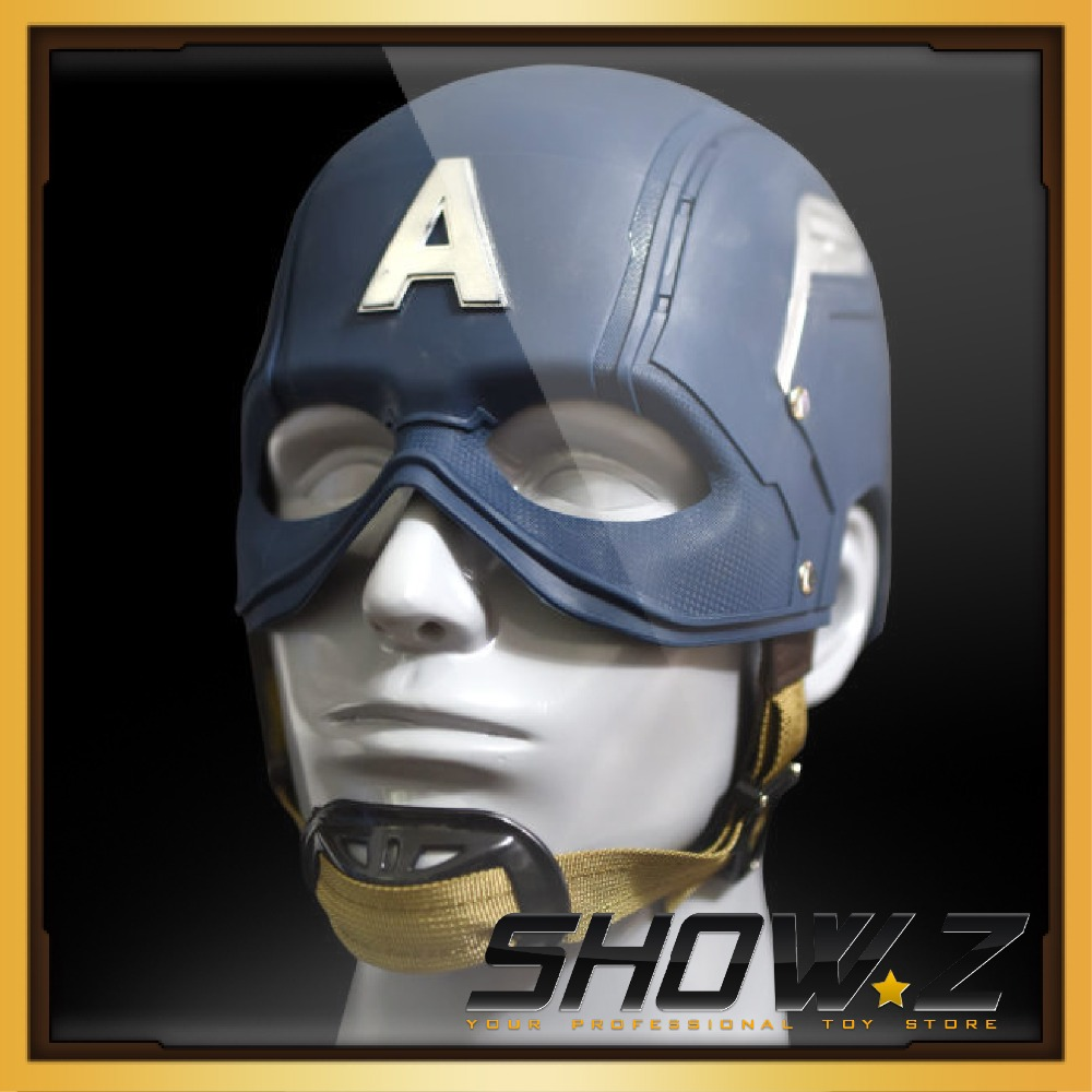 [Show.Z Store] Cattoys Captain America Helmet [Rookie Version] 1:1 WEARABLE Helmet Replica Prop