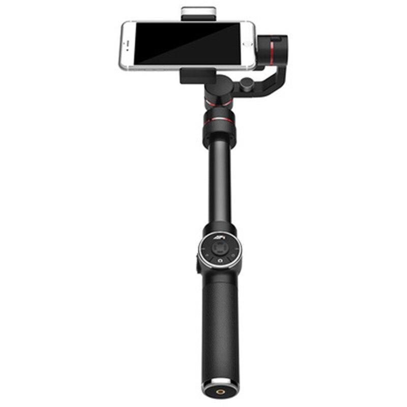 Высокое качество 3 оси с заполняющий свет ручной карданный смартфон стабилизатор Выдвижная полюс для iPhone X 8 XIAOMI samsung