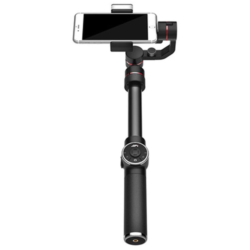 Haute qualité 3-Axe Avec remplissage lumière De Poche Cardan Smartphone Stabilisateur Extensible Pôle pour iPhone X 8 XIAOMI Samsung