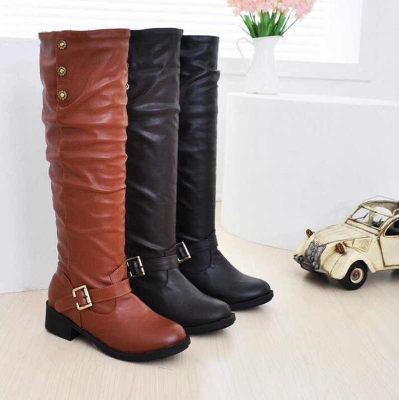 Brown Suede Thigh High Boots Promotion-Shop for Promotional Brown