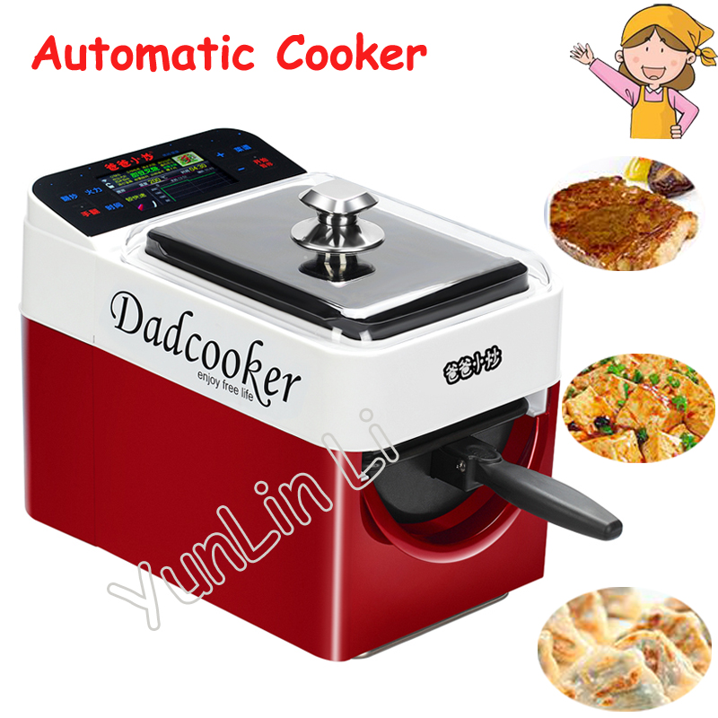 Automatic Intelligent Cooking Machine Multi-functional Frying Pan Stir Meat Vegetable Cooker Frying Machine BZ01 automatic cooking robot automatic cooking pot intelligent electric frying pan