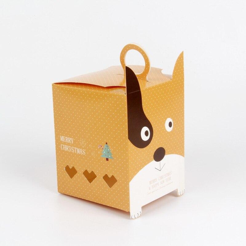 unids gato de dibujos animados caja de regalo bolsa de regalo bolsa de papel de