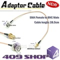 409shop 8-021 Adaptor Cable SMA Female to BNC Male