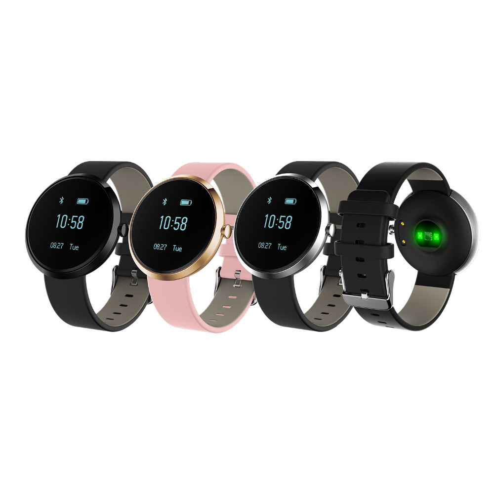 S10 Blood Pressure Tracker Wristwatch for Android IOS with Heart Rate Alcohol Allergy Phone Call Tracker