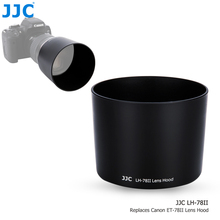 JJC obiektyw lustrzanki cyfrowej kaptur dla Canon EF 135mm f/2L USM i Canon EF 180mm f/3.5L makro obiektyw USM wymienić Canon ET 78II obiektyw cień