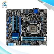 For Asus P8H67-M LX Original Used Desktop Motherboard For Intel H67 Socket LGA 1155 For i3 i5 i7 DDR3 16G uATX On Sale