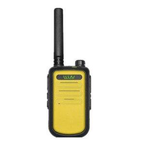 Image 4 - 100% Original  WLN KD C10 uhf 400 470MHz 16Channel mini two way radio FMR PMR walkie talkie KDC10