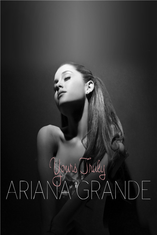 new ariana grande poster custom satin poster print cloth