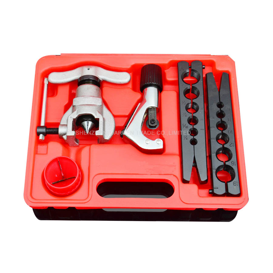 Ratchet Eccentric Cone Type Flaring Tool (RCT-N806AM-L) 1/4 to 3/4 and 6mm to 19mm xkai 14pcs 6 19mm ratchet spanner combination wrench a set of keys ratchet skate tool ratchet handle chrome vanadium
