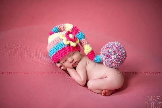 Aliexpress.com   Buy Newborn Long tail hat  b8294988201