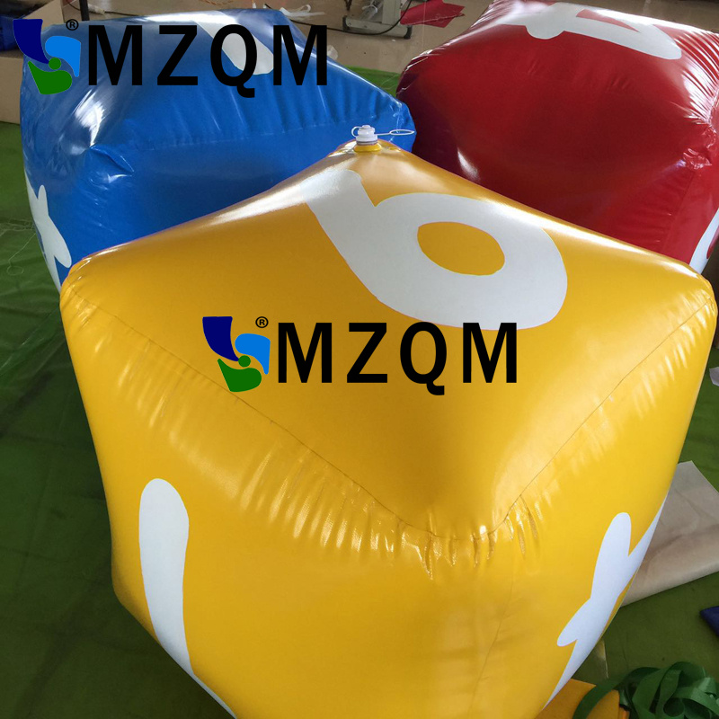 MZQM Inflatable Multi Color Dice Inflated PVC Sieve Hot Toys Stage Props Children Birthday Party Favors Kids Outdoor Game Play hot sale 1000g dynamic amazing diy educational toys no mess indoor magic play sand children toys mars space sand