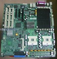 Free shipping! Ultra X6DHE-G2 server motherboard E7520 chip 800 FSB firewall plate DDR2 spot