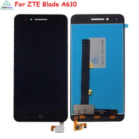 5 Inch White Black For ZTE Voyage 4 Blade A610 LCD Display Touch Screen Digitizer Assembly