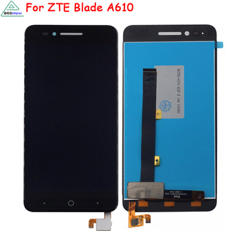 Original For ZTE Blade A610 A610C A611 A612 LCD Display Touch Screen Digitizer For ZTE Blade A610 BA610 Screen LCD Display for zte blade x7 display v6 t660 t663 lcd monitor touch screen digitizer screen accessories for zte blade x7 v6 z7 lcd tools