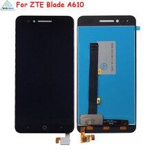 Originale Per ZTE Lama A610 A610C A611 A612 Display LCD di Tocco Digitale Dello Schermo Per ZTE Lama A610 BA610 Schermo LCD display