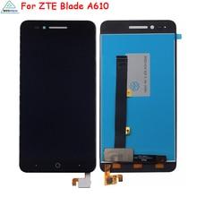 الأصلي ل ZTE بليد A610 A610C A611 A612 شاشة الكريستال السائل محول الأرقام بشاشة تعمل بلمس ل ZTE بليد A610 BA610 شاشة عرض LCD