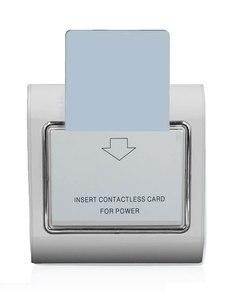Image 1 - 10 set 호텔 에너지 절약 스위치 지원 저주파 125K 카드 220V 30A 지원 없음 고주파 카드 전원 끄기 15s 지연