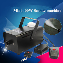 Smoke Ejector /Wireless Remote Control 400W Fog Machine/Stage 400W Fogger /400-Watt Smoke Machine For Disco,KTV, Party, Weddings все цены