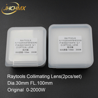 JHCHMX Raytools Original Collimating Lens Dia.30mm FL.100mm 2000W For Raytools BT240/BT240S/BM109/BM111 Fiber Laser Cutting Head
