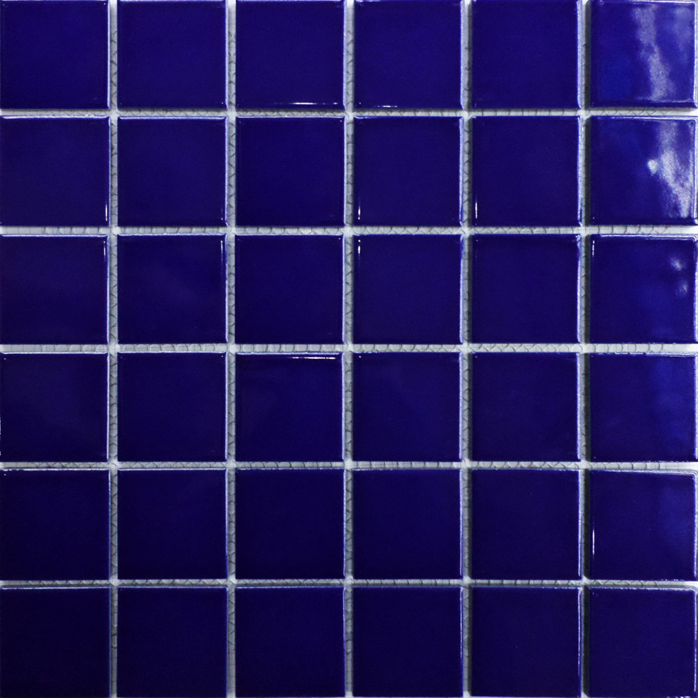 Cer 226 Mica 2 X 2 Azulejo Mosaicos Azul Piscina De Banho