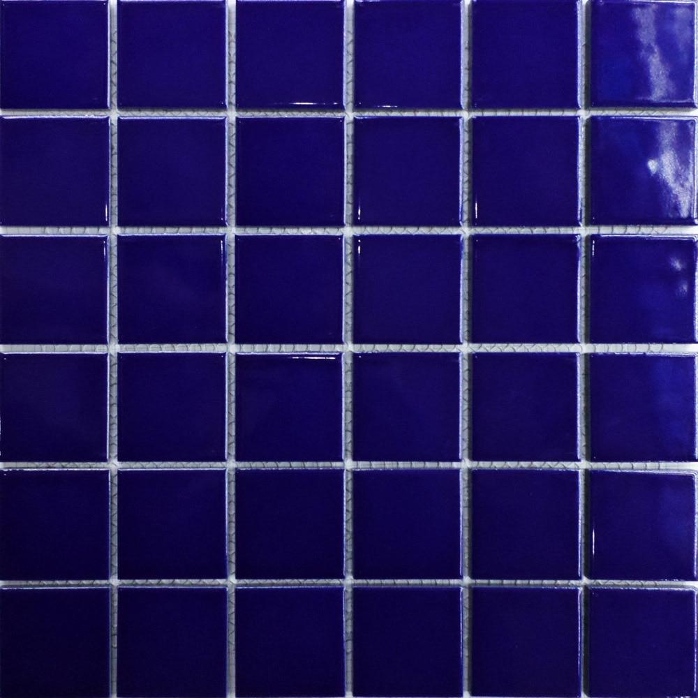 Ceramic 2x2 Mosaics Tile Blue Swimming Pool Bathroom Kitchen Tiles Wall Flooring Glazed Porcelain Art Decor Mesh11sf On Aliexpress Alibaba
