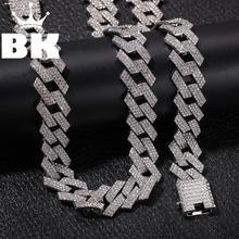 Collier et Bracelet Hip Hop, couleur or glacé, cristal Miami, chaîne cubaine, couleur or argent, offre spéciale