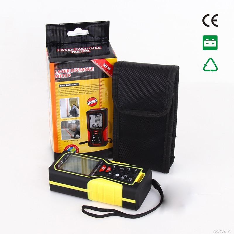 ФОТО Original LaserRanges 70m Professional Handheld Digital Laser Distance Meter Range Finder Measure Diastimeter Laser NF-2170