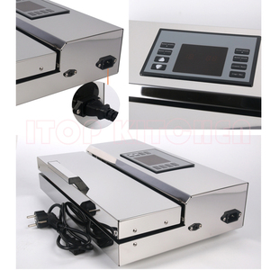Image 5 - ITOP Home use Food Vacuum Sealer Packing Machine 30cm Length Semi automatic Electric Vacuum Sealers Food Processors