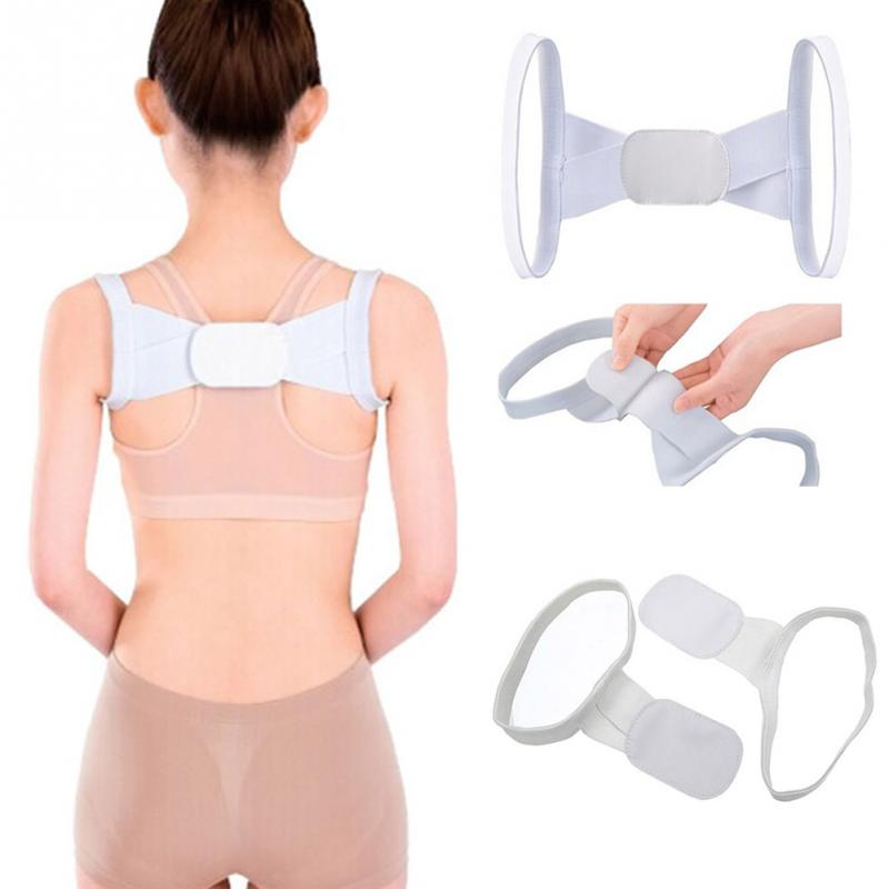 Women Back Support Adjustable Back Posture Corrector Shoulder Support Brace Belt Body Health Care Sports Protective Bands