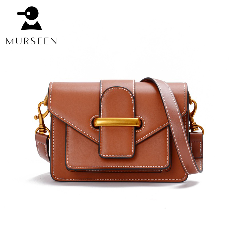2018 women fashion mini genuine leather messenger bags lady real leather small shoulder bags high quality flap crossbody bolsa