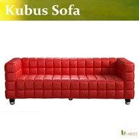 U BEST Classic Design Furniture Furniture Replica Design Hot Selling Genuine Leather Kubus Sofa