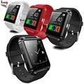 U80 Bluetooth Smart Watch Спорт для iphone 4/4s/5/5s/6/6 s + Samsung S4/S6/S7 Края Примечание 4 5 HTC Android Phone Smartwatch