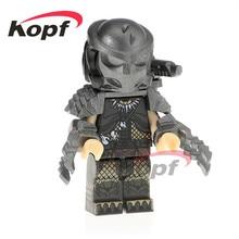 Única Venda Predador Hatsune Miku Modelo de Esqueleto Crânio Alienígena King Kong de Super Heróis Blocos de Construção de Brinquedos de Presente Crianças PG1127