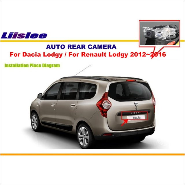 License Plate Camera >> Liislee Car Parking Camera For Dacia Lodgy / For Renault Lodgy 2012~2016 / Rear View Camera ...