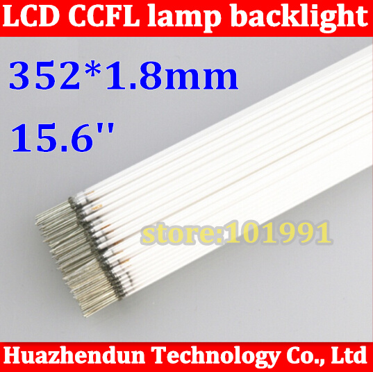 100pcs/lot Free Shipping Supper Light CCFL 352mm/353 mm * 2.0mm/1.8mm For Laptop 15.6 16:9 Wid LCD Backlight Lamp