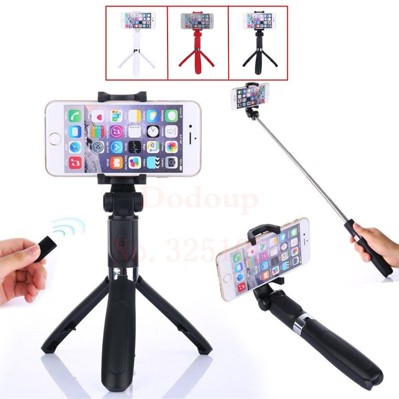 Handheld Monopod Selfie Stick Bluetooth Extendable Tripod for iPhone 8 7 6s for Samsung phone Wireless bluetooth Selfie Stick 3 in 1 handheld bluetooth selfie stick for iphone x 8 7 6s plus wireless remote shutter monopod portable extendable mini tripod