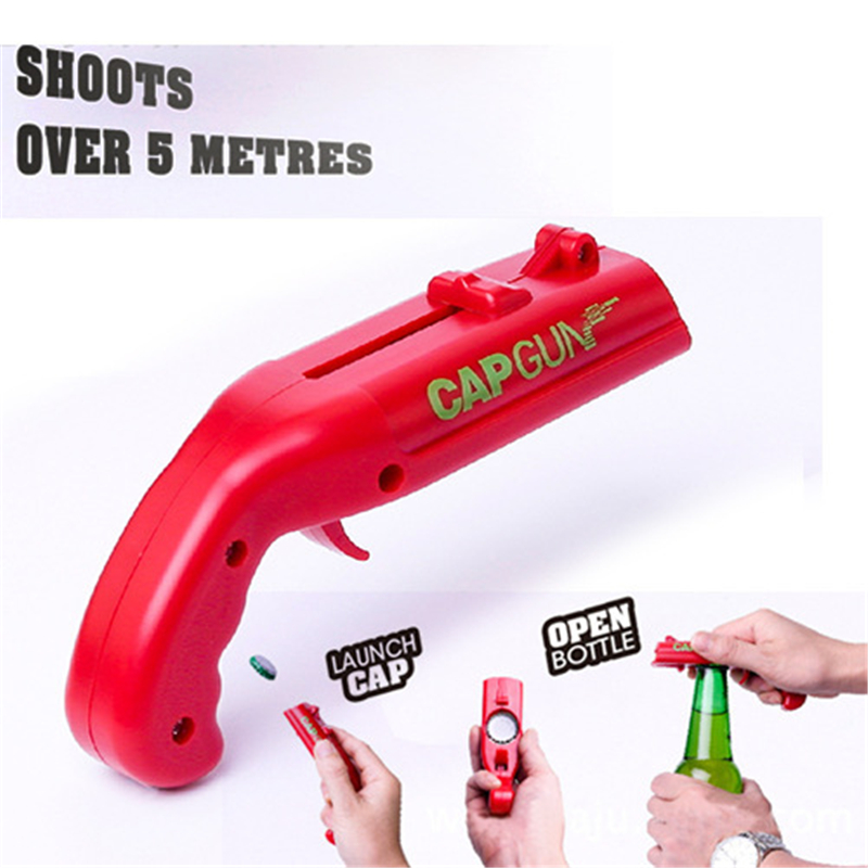 Celebration-Tools Cap-Gun Bottle-Opener Shooter-Bar Beer-Bottles Opening Outdoor Portable